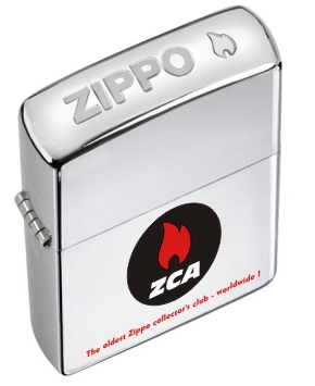Zippo Club Austria - Everyday Lighter 2012 Crown Stamp  |  80th Anniversary